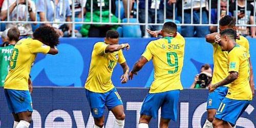 (VIDEO) Brasil acaba el sueño azteca y se mete en cuartos