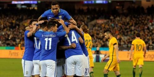 (VIDEO) Brasil goleó a Australia: el primer gol fue en tiempo récord