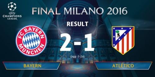 (VIDEO) Champions League, el Atlético Madrid elimina al Bayern Múnich y es el primer finalista!