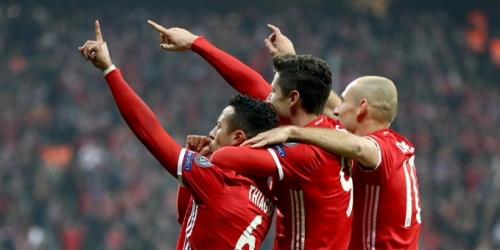 (VIDEO) Champions League, el Bayern goleó al Arsenal y está con un pie en Cuartos de Final