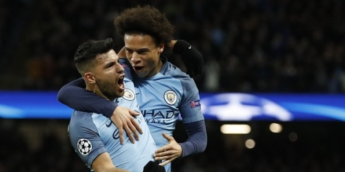 (VIDEO) Champions League, el City superó al Monaco por 5-3 en la ida de Octavos de Final