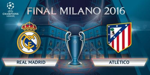 (VIDEO) Champions League, la final del torneo será Real Madrid vs. Atlético Madrid