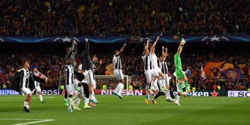 (VIDEO) Champions League, la Juve eliminó al Barça y se metió entre los semifinalistas