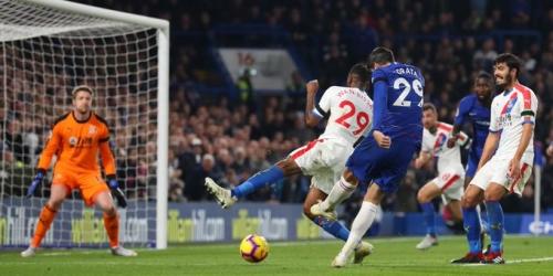 (VIDEO) Chelsea no quiere alejarse del puntero y derrota al Crystal Palace