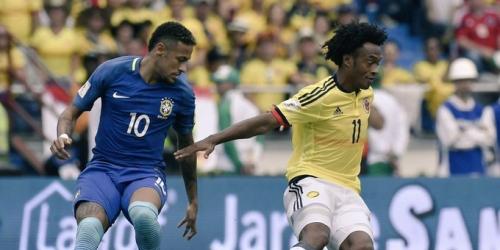 (VIDEO) Colombia y Brasil dividen honores y la tabla sigue apretada