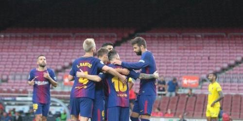 (VIDEO) Cómoda victoria del Barça en un Camp Nou vacío
