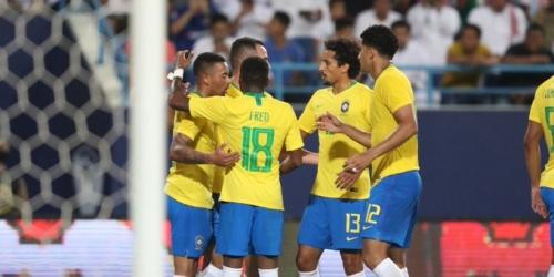 (VIDEO) Complicada victoria de Brasil sobre Arabia Saudita en partido amistoso