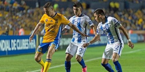 (VIDEO) Concachampions, Tigres y Pachuca igualaron 1-1 en la final de ida