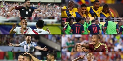 Copa América, programación de los Cuartos de Final