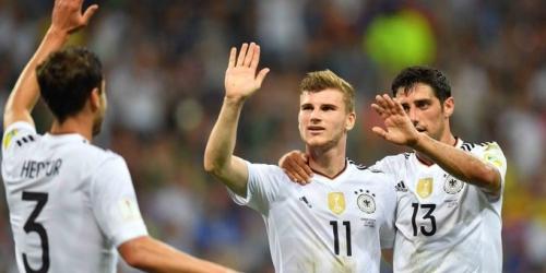 (VIDEO) Copa Confederaciones, Alemania goleó 4-1 a México y se metió en la final