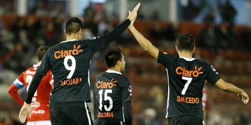 (VIDEO) Copa Sudamericana, Libertad logró una histórica victoria (5-1) frente a Huracán