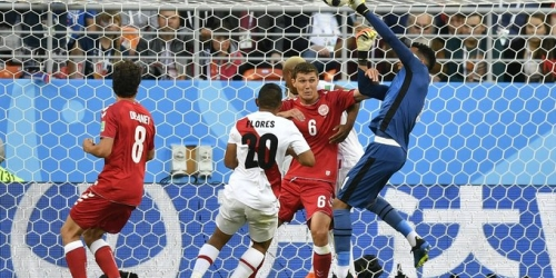 (VIDEO) Dinamarca logra vencer 1 a 0 al combinado de Perú