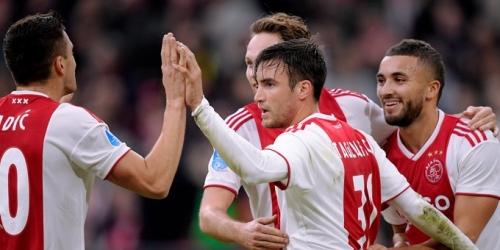 (VIDEO) El Ajax se impone cómodamente