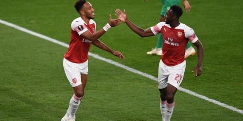 (VIDEO) El Arsenal ganó 4-2 al Vorskla por el grupo E de la Europa League