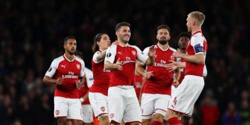 (VIDEO) El Arsenal se estrena en Europa League con victoria