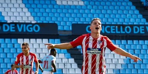 (VIDEO) El Atlético de Madrid venció al Celta de Vigo de visita