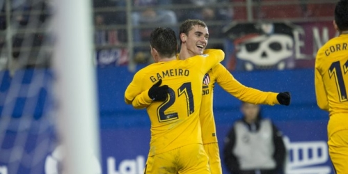 (VIDEO) El Atlético de Madrid venció al Eibar y acortó distancias con  el líder