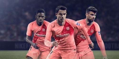 (VIDEO) El Barcelona lanza su tercera camiseta