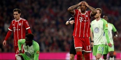 (VIDEO) El Bayern Munich se estrella frente al Wolfsburg