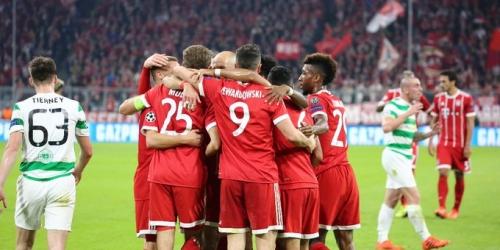 (VIDEO) El Bayern Múnich venció al Celtic en el regreso del DT Jupp Heynckes