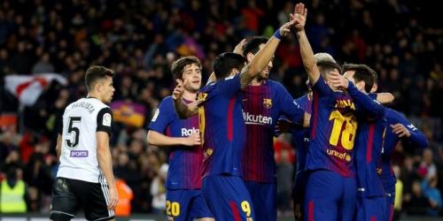 (VIDEO) El FC Barcelona le ganó al Valencia por la Copa del Rey