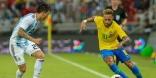 (VIDEO) El fútbol a veces no es justo, Brasil gana por la mínima a la Argentina
