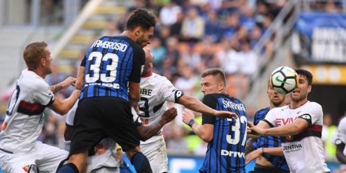 (VIDEO) El Inter venció al Genoa sobre el final