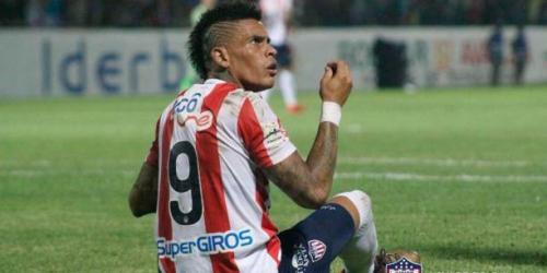 (VIDEO) El Junior de Jonathan Alvez fue goleado por el Palmeiras en la Copa Libertadores