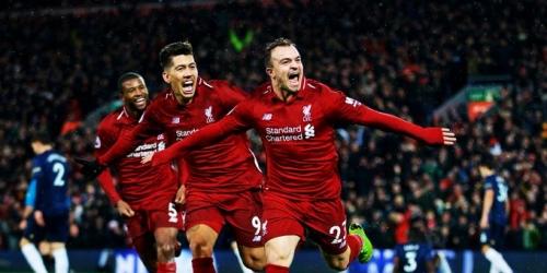 (VIDEO) El Liverpool le ganó al Manchester United