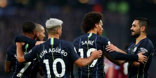 (VIDEO) El Manchester City golea al West Ham y sigue en la cima de la Premier