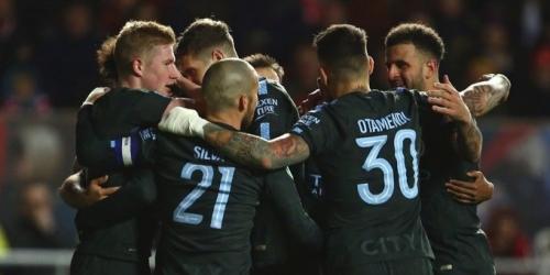 (VIDEO) El Manchester City le ganó al Bristol City y avanzó a la Final de la League Cup