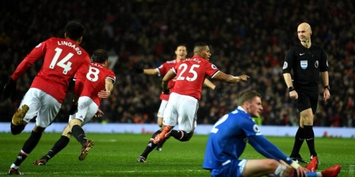 (VIDEO) El Manchester United venció al Stoke CIty en la Premier League