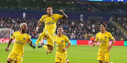 (VIDEO) El PSG goleó al Anderlecht en Bélgica