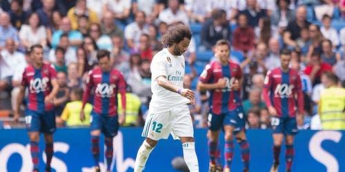 (VIDEO) El Real Madrid empata frente al Levante en el Santiago Bernabéu