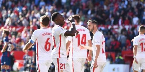 (VIDEO) El Sevilla vence a placer al Levante