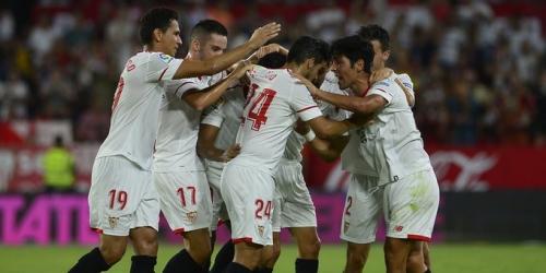 (VIDEO) El Sevilla vence al Málaga en el Ramón Sánchez-Pizjuán
