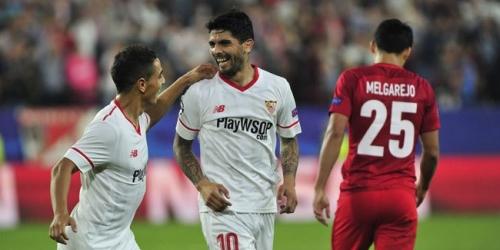 (VIDEO) El Sevilla venció al Spartak de Moscú y se ubica en el segundo puesto del Grupo E