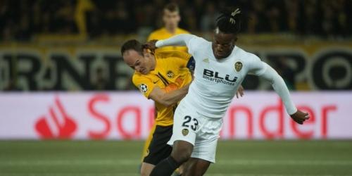 (VIDEO) El Valencia CF empata con el Young Boys y se complica en la Champions