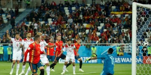 (VIDEO) España acabó en en el primer lugar, tras igualar ante Marruecos