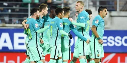 (VIDEO) España, con goles de la MSN el Barça superó al Eibar en la Liga
