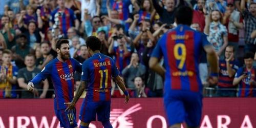 (VIDEO) España, el Barça goleó al Villarreal con goles de la MSN