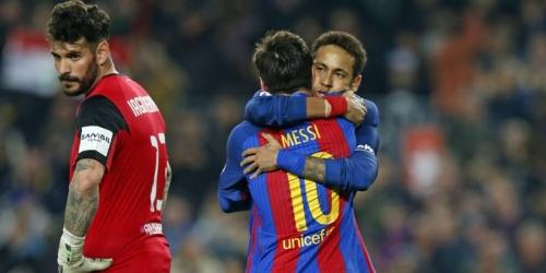 (VIDEO) España, el Barça se llevó tres puntos agónicos con doblete de Messi