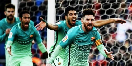 (VIDEO) España, el Barça venció al Atlético y escaló al primer lugar de la Liga