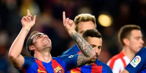 (VIDEO) España, el Barcelona aplastó al Sporting en la 25a jornada de la Liga Santander