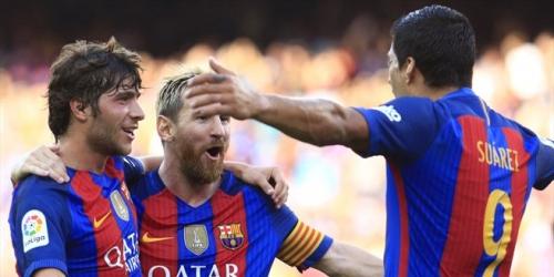 (VIDEO) España, el Barcelona comenzó LaLiga con una goleada