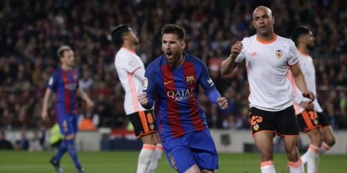 (VIDEO) España, el Barcelona derrotó al Valencia y sigue en pelea por la Liga