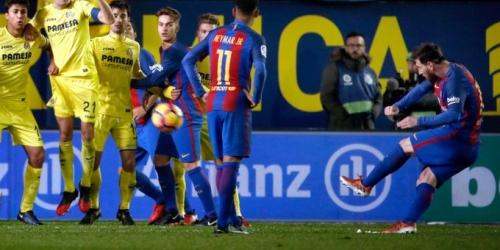 (VIDEO) España, el Barcelona empató con el Villarreal y resbaló al tercer lugar