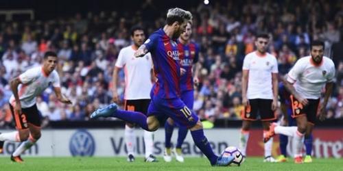 (VIDEO) España, el Barcelona ganó en la Liga con un penal agónico de Messi