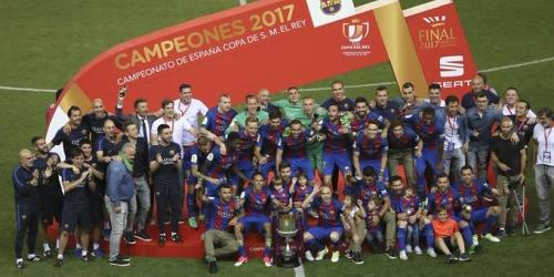 (VIDEO) España, el Barcelona ganó su 29a Copa del Rey!
