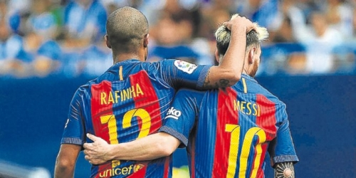 (VIDEO) España, el Barcelona goleó al Deportivo La Coruña y es escolta de la Liga